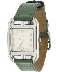 Hermès - Vintage Cape Cod Green Silver Watches - Lyst