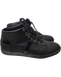 Dior - Leather High Trainers - Lyst