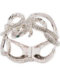 Roberto Cavalli - Pre-owned Silver Metal Bracelet - Lyst