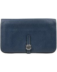 Hermès - Dogon Leather Card Wallet - Lyst