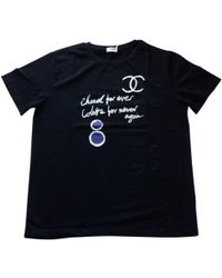 Chanel - Black Cotton Top - Lyst