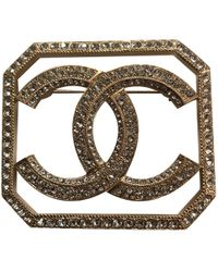 Chanel - Other Metal Pins & Brooches - Lyst