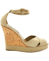 Ralph Lauren Collection - Pre-owned Cloth Sandals - Lyst
