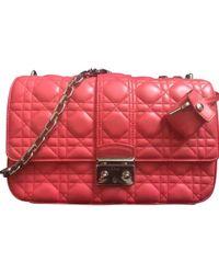 3527d096b9 Lyst - Dolce   Gabbana Miss Dea Crossstitch Clutch