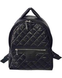c6ce03dcd9db83 Lyst - Chanel Leather Backpack · Daypack Coco Mark in Black