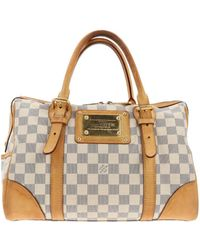 bcd063f7100a Lyst - Louis Vuitton Pre-owned Leather Handbag in White