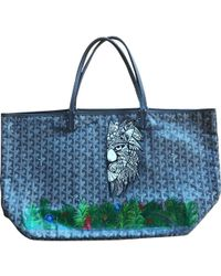 Goyard - Pre-owned Saint-louis Multicolour Cloth Handbags - Lyst
