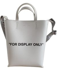 Off-White c/o Virgil Abloh - Pre-owned Leather Tote - Lyst