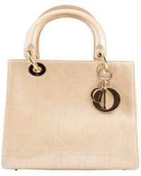 Dior - Lady Leather Bag - Lyst