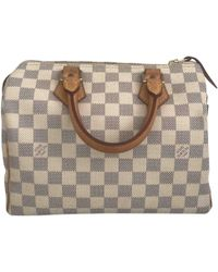 Louis Vuitton - Pre-owned Speedy Other Cloth Handbags - Lyst