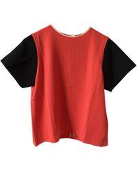 Céline - Céline Red Top, Size 40 - Lyst