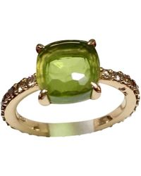 Pomellato - Pre-owned Baby Green Pink Gold Rings - Lyst