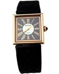 Chanel - Mademoiselle Yellow Gold Watch - Lyst
