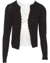 JOSEPH - Black Silk Knitwear - Lyst