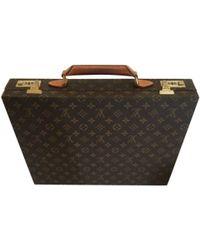 Louis Vuitton - Cartable en toile - Lyst