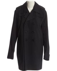 Dior - Pre-owned Black Polyester Coats - Lyst