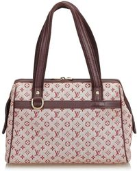 955fdc086411 Lyst - Louis Vuitton Alma Pm Handbag Monogram Canvas M51130 in Brown