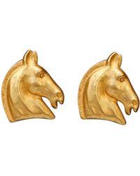 Hermès - Pre-owned Earrings - Lyst