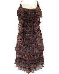 Étoile Isabel Marant - Silk Mini-dress - Lyst