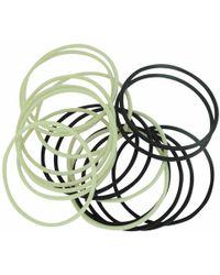 Chanel - Pre-owned White Plastic Bracelet - Lyst