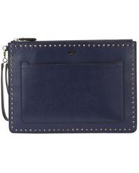 Diane von Furstenberg - Pre-owned Leather Clutch Purse - Lyst