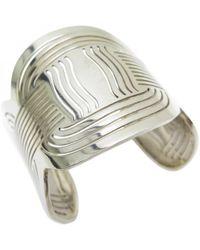 Ferragamo - Silver Bracelet - Lyst