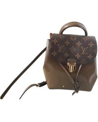Louis Vuitton - Pre-owned Patent Leather Backpack - Lyst