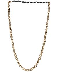 BVLGARI - Gold Yellow Gold Necklace - Lyst