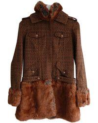 Chanel - Tweed Coat - Lyst