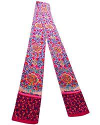 Louis Vuitton - Pink Silk Scarves - Lyst