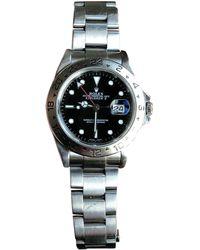 Rolex - Vintage Grey Steel Watches - Lyst