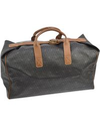 Dior | Pre-owned Cloth Travel Bag | Lyst