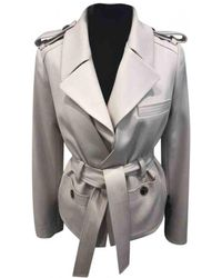 Chloé - Pre-owned Wool Trench Coat - Lyst