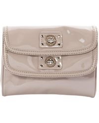 Marc By Marc Jacobs - Grey Patent Leather Clutch Bag - Lyst