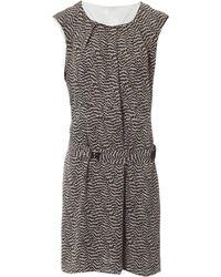 Tory Burch - Silk Mini Dress - Lyst