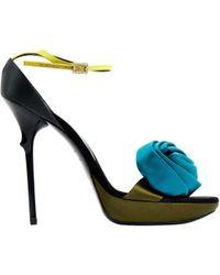 Roger Vivier - Cloth Sandal - Lyst