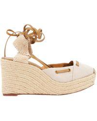 Hermès - Cloth Sandals - Lyst