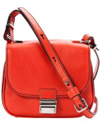 Proenza Schouler - Pre-owned Leather Crossbody Bag - Lyst