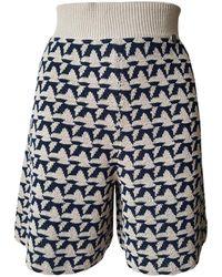 Chanel - Multicolour Cotton Shorts - Lyst