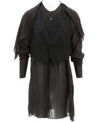 Jean Paul Gaultier - Pre-owned Vintage Brown Viscose Dresses - Lyst