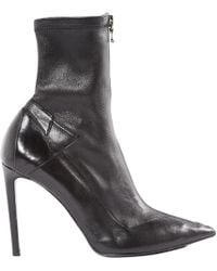 Roland Mouret - Pre-owned Leather Ankle Boots - Lyst
