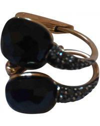 Pomellato - Pre-owned Capri Black Pink Gold Earrings - Lyst