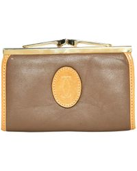 Cartier - Pre-owned Leather Purse - Lyst