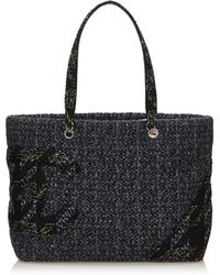 Chanel - Cambon Tweed Tote - Lyst