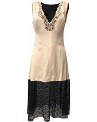 Stella McCartney - Silk Mid-length Dress - Lyst
