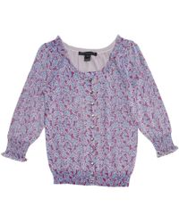 Marc By Marc Jacobs - Pre-owned Purple Cotton Knitwear - Lyst