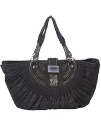 Lyst - Pleats Please Issey Miyake Pleated Tote in Black 44517bec86