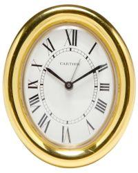 Cartier - Clock - Lyst