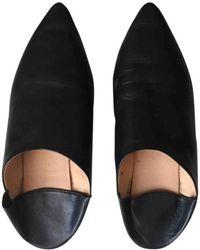 Acne Studios - Leather Flats - Lyst