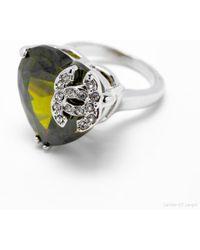 Chanel - Silver Metal - Lyst